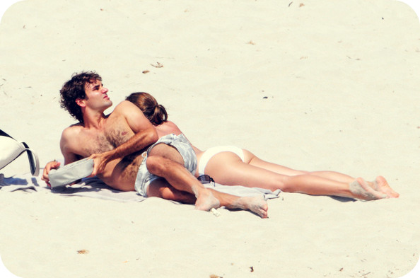 Federer and Mirka vacation photos. « Tennis Planet