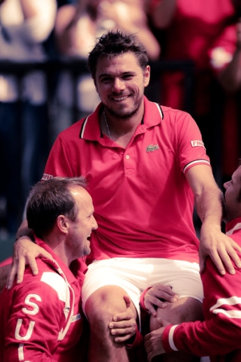 Davis Cup - Australia v Switzerland: Day 4