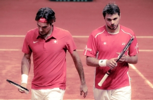 It's a point worth noting (and a rich sidebar to the main story authored on Sunday in Monte Carlo): Had Roger Federer not saved Switzerland in the Davis Cup quarterfinals, Stanislas Wawrinka might not have felt happy enough or liberated enough to play his very best tennis this past week, en route to his first Masters 1000 championship. Federer did indeed wind up helping Wawrinka... but his buddy still had to toe that line and deliver the goods when it mattered. Stan genuinely attained a new measure of hard-earned tennis independence in this seaside showdown.