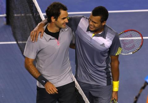 Federer v Tsonga Aus Open 2013