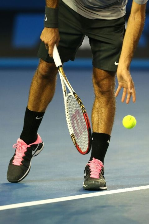 federer tennis shoes aus open 2013