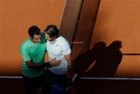 APTOPIX Italian Open Tennis