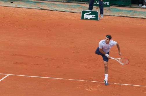 Federer Roland Garros 2013 R1