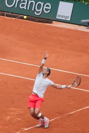 Nadal v Brands Roland Garros 2013