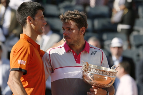 wawrinka-djokovic-french-open